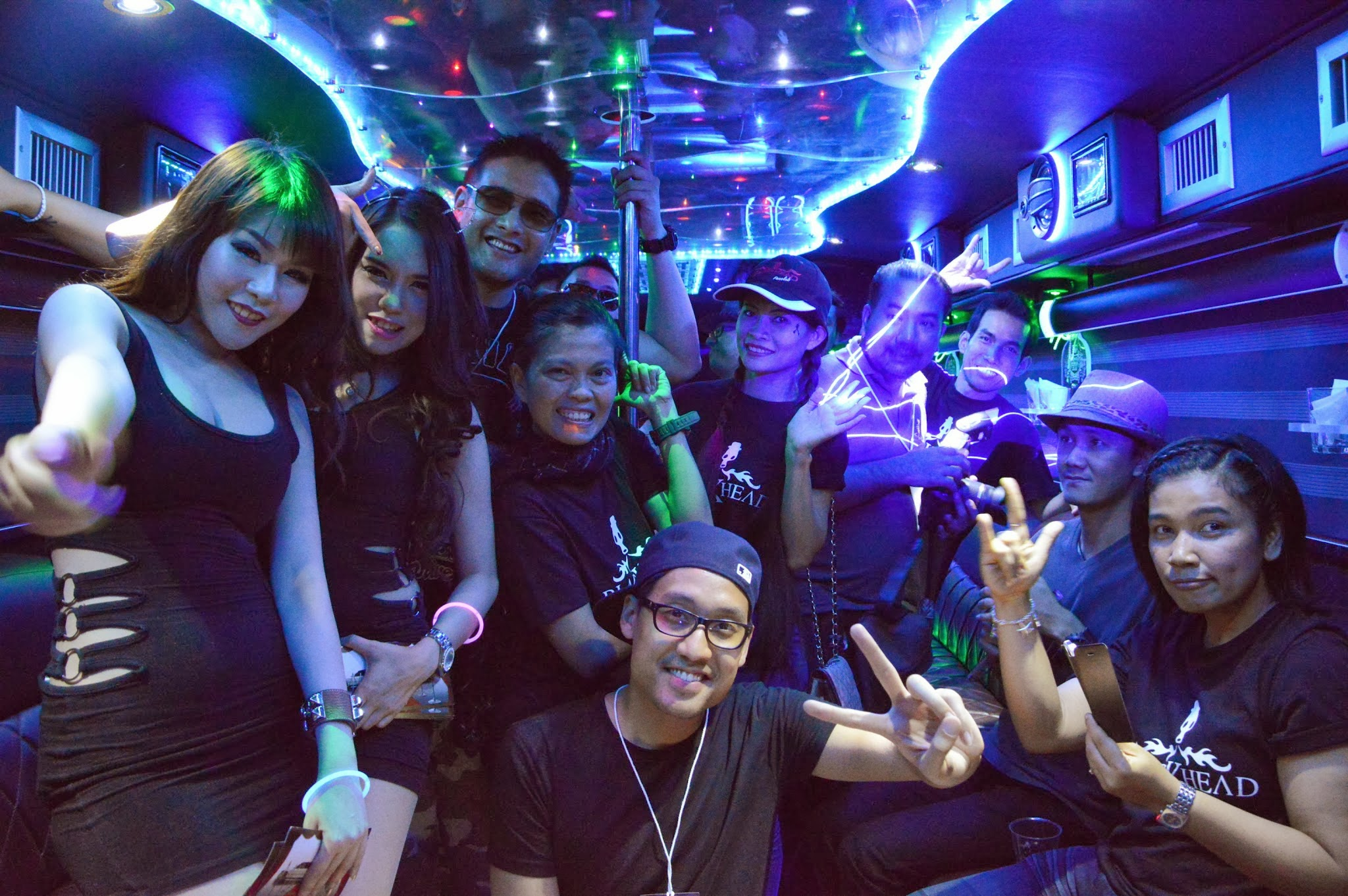 Party bus for the cooperate